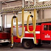 Рельсовые вытяжные системы для экстренных служб фото