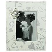 """Фоторамка """"Свадебные колокольчики"""" для фото 13*18см (уп.1/12шт.) фото"""