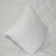 Подушка однотонная 38*38 СМ хлопок (бязь) фото