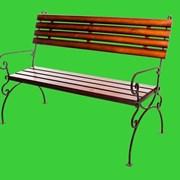 Садовая скамейка Стандарт фото