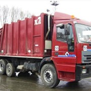 Вывоз строительных и негабаритных отходов контейнерами ёмкостью 15 м3 фото