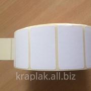 Термоэтикетка ЕКО 40х25 фото