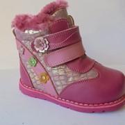 Детскии ботинки , девочка фото