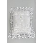 Подушка для колец №21, белый фото