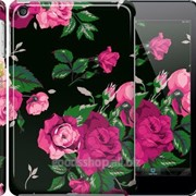 Чехол на iPad mini 3 Розы на черном фоне 2239c-54 фото
