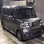 Микровэн турбо HONDA N BOX кузов JF2 класса минивэн модификация Custom G Turbo г 2012 4WD пробег 97 т.км серый фото