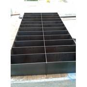 Формы металические для пенобетона 50х30х20(28ячеек) фото