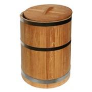 Кадка дубовая, деревянная фото