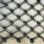 Плетеная одинарная транспортерная сетка Тип-1 5x5x1.2 мм СВ08Г2С фото