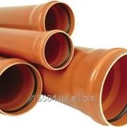 Труба канализационная внешняя Evci Plastik 110х1000 мм фото