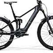 """Велосипед Merida eOne-Sixty 8000 29""""/27.5"""" (2020) Серый 18 ростовка фото"""