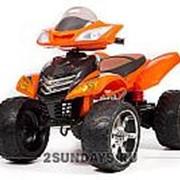 Детский электроквадроцикл BARTY Quad Pro оранжевый фото
