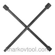 Ключ баллонный крестовой профессионал Intertool HT-1603 фото