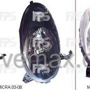 Фара передняя Nissan MICRA K12 03-10 DM5008R8-E фото