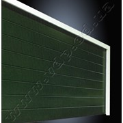 Секционные гаражные ворота EPU 40 – стальные, двустенные 42/20 мм фото