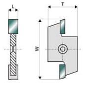 Сменная пластина Frezwid N4 - N8 фото