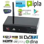 Декодер Android Smart TV Box VenBOX ITV23 With Decoder DVB-T2/S2/ATSC фото