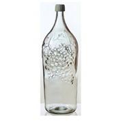 Бутыль коллекционная объёмом 2 литра Виноград фото