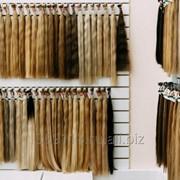 Волосы для наращивания на капсулах (русые тона) фото