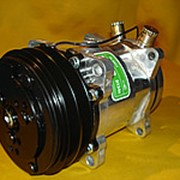 Компрессор кондиционера 5H14 на Hidromek Tractopelle HMK102BHMK102S фото