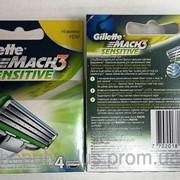 Gillette Кассета Mach 3 Sensitive, 4 шт / уп фото