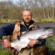 Тур рыбалка на реках Камчатки. Морская рыбалка на Камчатке фото