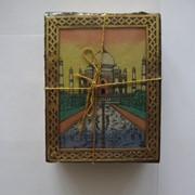 Чай Масала в подарочной деревянной коробке, Индия, 50 грамм фото