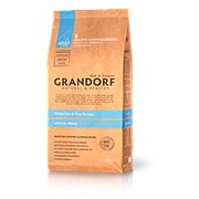 Grandorf Dog 3кг Fish&Rice Adult All Breed Сухой гипоалергенный корм для взрослых собак всех пород фото
