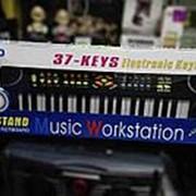 Игрушка синтезатор большой musik workstation фото