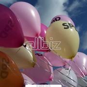 Печать на воздушных шарах в Алматы фото