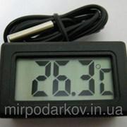 Цифровой LCD термометр с выносным датчиком фото