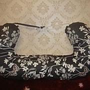 Подушка НОВИНКА для будущих мам «Бабочки на черном» 2.5 м фото