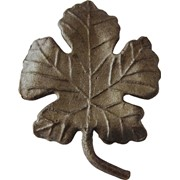 Листья кованые фото