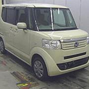 Микровэн HONDA N BOX кузов JF1 класса минивэн модификация G гв 2014 пробег 152 т.км слоновая кость фото