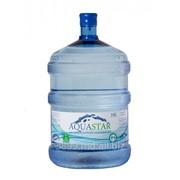 Вода AQUASTAR фото