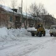 Уборка и вывоз снега Киев фото