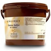 Какао масло в каллетах Callebaut, ведерко 3 кг фото