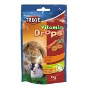 Дропсы для грызунов с Каротином Trixie Vitamin Drops (Трикси витамин дропс) 75 гр фото