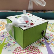 Коробка Stewo Music box Luna, 2 дизайна, 7.5 х 7.5 х 5 см Подарочный фото