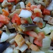 Смесь «СОТЕ С БАКЛАЖАНАМИ » из быстрозамороженных овощей фото