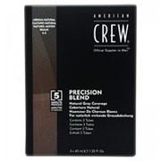 American Crew American Crew Камуфляж для седых волос Средний натуральный 4/5 (Precision Blend) 7206677000 3*40 мл фото