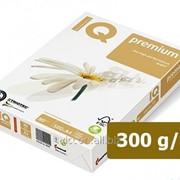 Бумага офисная iq triotec premium,A4, 300 г/м2, белизна 166% cie, 125 листов IQTP300 фото