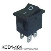 Переключатель KCD1-104/4P без подсветки фото