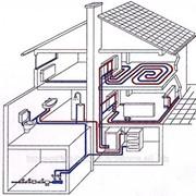 Разработка, проектирование и монтаж систем отопления зданий, контроля процессов отопления и кондиционирования фото