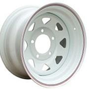 ORW ORW диск стальной УАЗ 5x139.7 8х16 ET +15 d110 белый фото