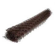 Сетка-рабица с полимерным покрытием коричневая 2.0х10 м ячейка 50х50мм d=2.0мм фото