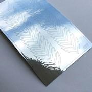 Металлизированные наклейки №137 серебро ххх фото