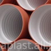Труба гофрированная ПП для наружной канализации 600х5900 фото