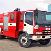 Пожарная машина ISUZU FTR фото