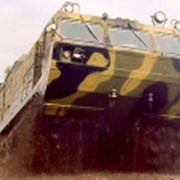 Модернизированный двухзвенный гусеничный транспортер ДТ-30ПМ